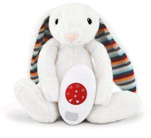 Λαγουδάκι BIBI βοηθός ύπνου με χτύπο καρδιάς & λευκούς ήχους ZAZU