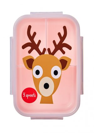 3 sprouts τάπερ Lunch Bento Box Deer