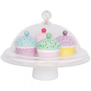 Ξύλινα cup cake
