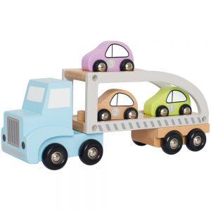 Ξύλινο Φορτηγάκι μεταφοράς αυτοκινήτων